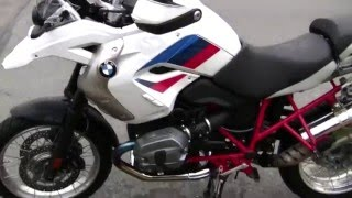 3. 2012 BMW R1200GS rallye edition walkaround
