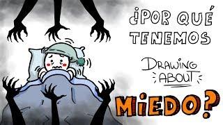 Video WHY you afraid? | About Drawing with @ GlóbuloAzul MP3, 3GP, MP4, WEBM, AVI, FLV November 2017