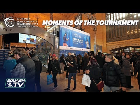Squash: Moments of the Tournament - ToC 2019