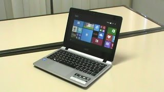 Acer E3-111 - 11 Inch Slim Notebook Unboxing