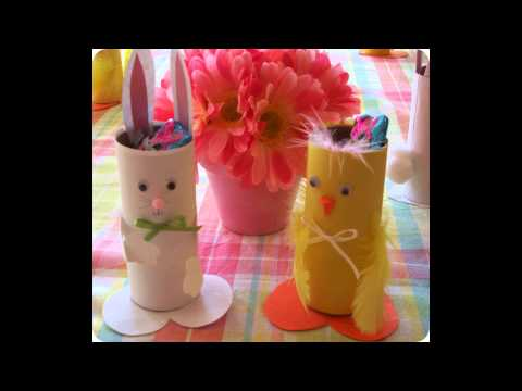 DIY: Toilet Paper Roll Craft Ideas for Easter!