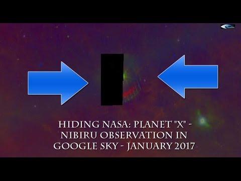 il telescopio online di google ha trovato e mappato nibiru!