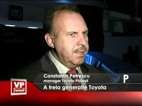 A treia generaţie Toyota