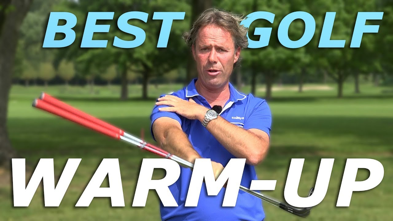 3 EASY GOLF WARM UP excercises before hitting golf balls