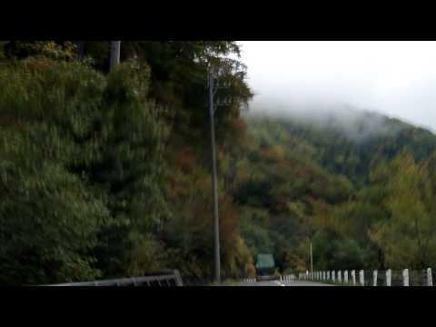 高山 至 松本 途中