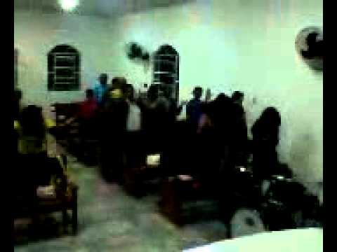 culto na igreja do pastor HELIO em ponto dos volantes,MG.