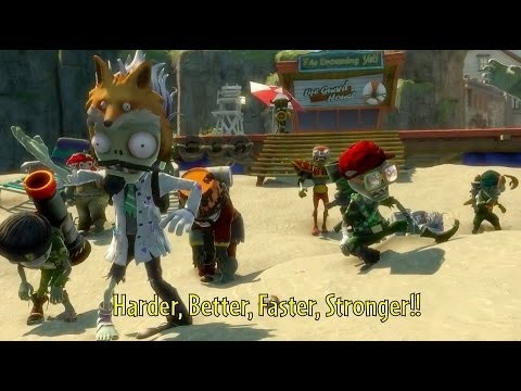 Hispasolutions Plants vs. Zombies Garden Warfare caratula DVD PC