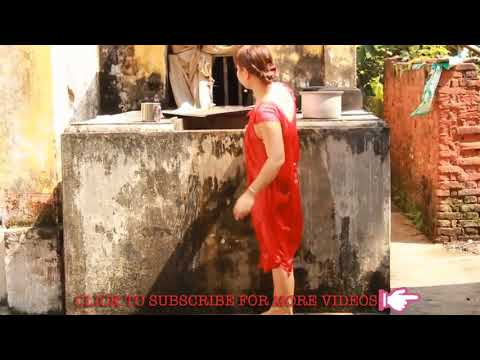 Sexy Girl Bath  - Village Girls  - Beautiful Girl In Village  - Village Of Girls 2018