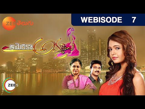 America Ammayi - Indian Telugu Story - Epi 7 - Aug 3, 2015 - Zee Telugu TV Serial - Webisode