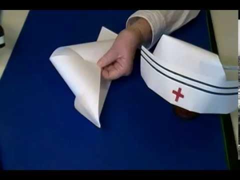 Шапка доктора из бумаги