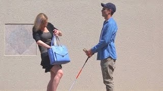 Video Would You Steal Money From a Blind Man? - Social Experiment MP3, 3GP, MP4, WEBM, AVI, FLV Februari 2019