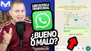 Whatsapp Ubicación en Tiempo Real y Sus Peligros