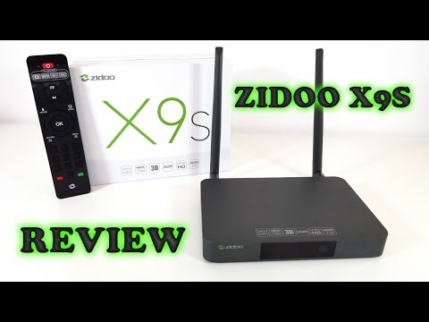 Zidoo X9S TV BOX REVIEW - Realtek RTD1295 - Best TV Box i've ever tried!