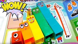 Numberblocks  Counting for kids  Educational and fun  CBeebies  Colors  Learning video