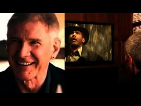 Harrison Ford Watches Indiana Jones For The First Time