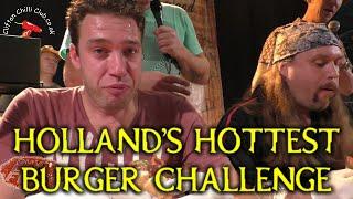 Holland's Hottest Burger Challenge
