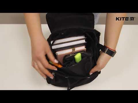 #Обзор городского рюкзака #Kite #Beauty модель 882 коллекции 2018 видео