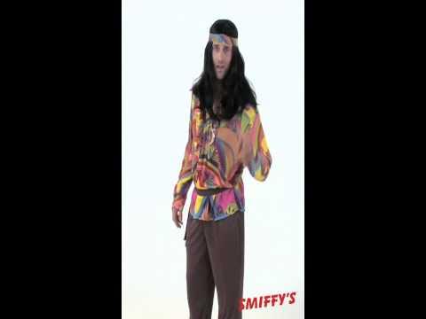 Déguisement Psychédélique Hippie