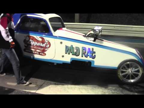 Wild Rat vs Nitro Madness Match Race @ Central IL Dragway 9/12/15