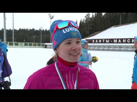Дарья Веденина - бронзовый призёр спринта на чемпионате России