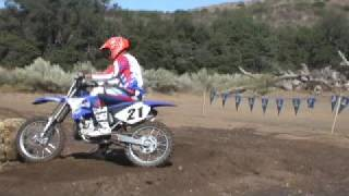 8. 2009 Yamaha YZ250 and YZ125 - Motocross Bikes First Ride