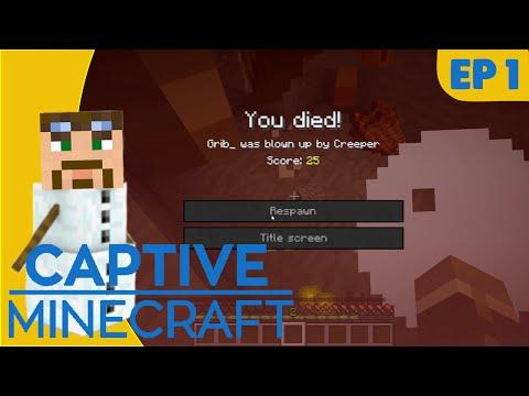 [Dansk] Captive Minecraft IV // Creepers! - Ep01