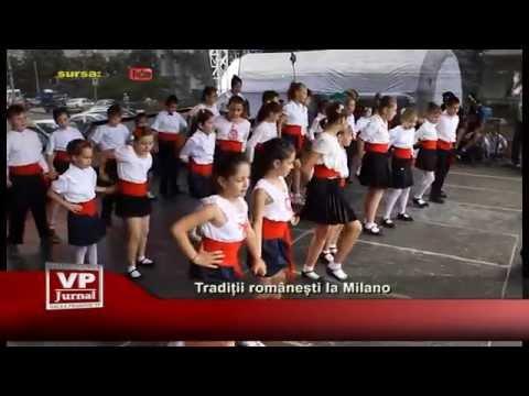 Traditii romanesti la Milano