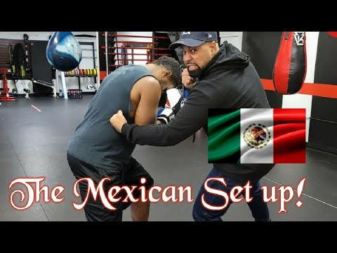 How to do The Mexican Set Up to the body! [ Professional Boxing Secrets ]