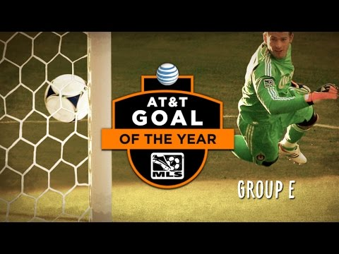 Video: 2014 AT&T Goal of the Year Nominees: Group E