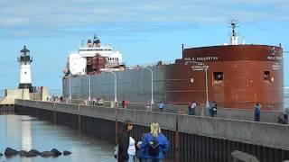 Video Paul R.Tregurtha Duluth Port Entry Largest Great Lakes Ship MP3, 3GP, MP4, WEBM, AVI, FLV Agustus 2018