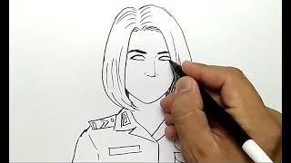 Download Video CANTIK BANGET, cara menggambar polisi wanita MP3 3GP MP4