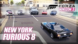 Nonton Forza Horizon 3   The Fate Of The Furious Recreation   New York Chase  Film Subtitle Indonesia Streaming Movie Download