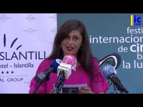 Inauguración Festival Cine de Islantilla y entrega del Premio 'Francisco Elías' a Pablo Cervantes.