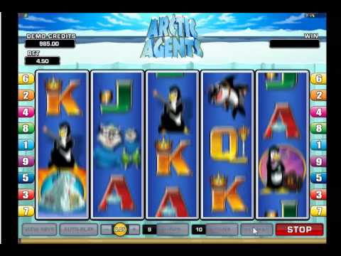 Arctic Agents Slots Game From Microgaming