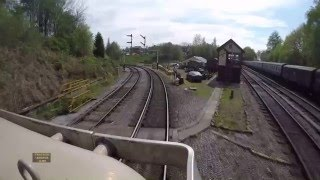 UK railway cab ride.
