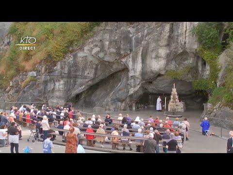 Chapelet du 22 septembre 2020 à Lourdes
