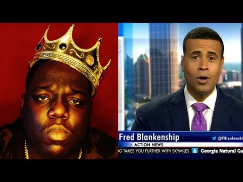 Atlanta News Anchors Slip An Impressive Number Of Biggie Lyrics Into A