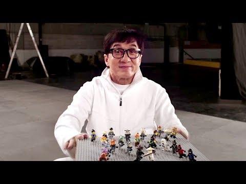 ЛЕГО Ниндзяго Фильм — Русское видео о съёмках с Джеки Чаном (2017)