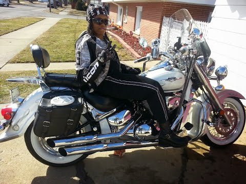 How to clean white wall tires on a motorcycle