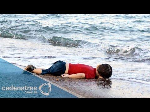 Aylan Kurdi, el niño migrante ahogado en aguas de Turquía no volverá a jugar con su papá