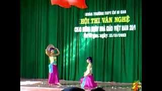 Múa Quê Tôi chào mừng 20 - 11 lớp 12A14 2012 2013