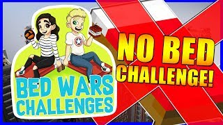 NO BED CHALLENGE!? | Bedwars Challenges #5 | With NettyPlays