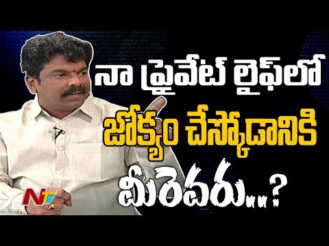 Bonda Umamaheswara Rao Exclusive Interview || Point Blank