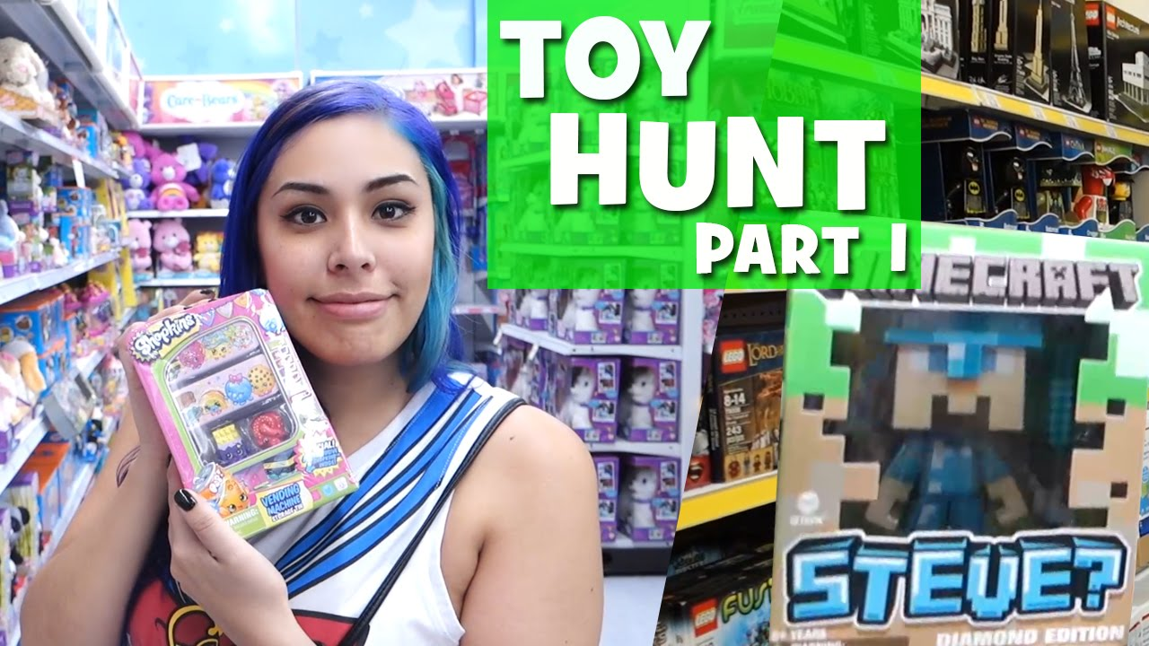 TOY HUNT! Blind Bags, Shopkins, Minecraft & MOAR!