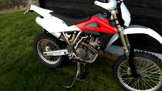 1. Husqvarna TE510 2007 cold start