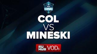 Mineski vs coL, game 1