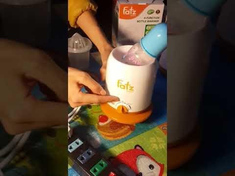 Hướng dẫn sử dụng máy hâm sữa Fatzbaby
