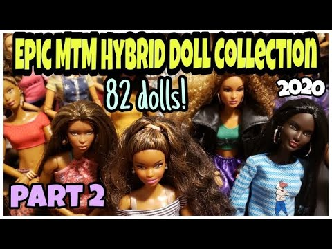EPIC MADE TO MOVE BARBIE HYBRID DOLL COLLECTION PT.2