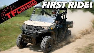4. First Dirt Review: 2020 Polaris Ranger 1000 - Best New Utility Side-by-Side?