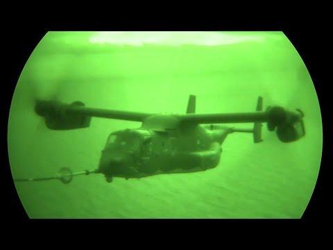 An MC-130J Commando II crew from...